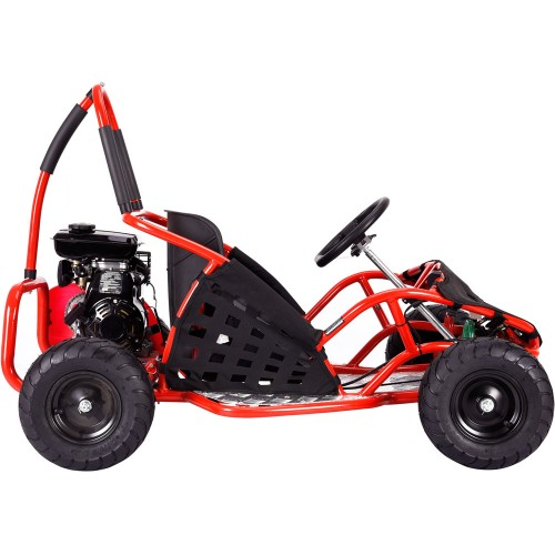 MotoTec Off Road Go Kart 79cc Red