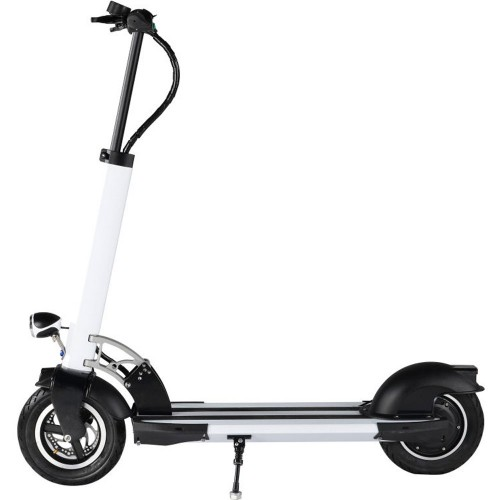 MotoTec Rover 500w Lithium Electric Scooter White