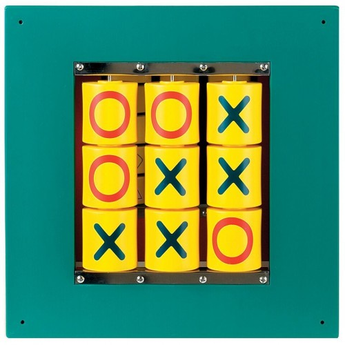 Busy Cube - Tic Tac Toe Wall Panel