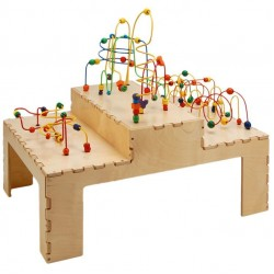 Step Up Rollercoaster Table