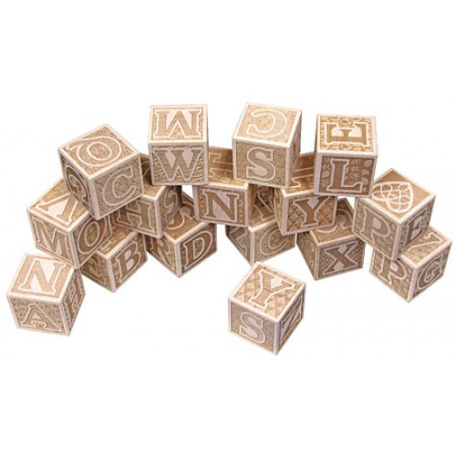 ABC Blocks, Engraved