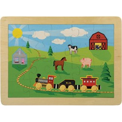Puzzle, Countryside Railroad