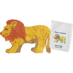 Shaped Jigsaw Puzzle, Lion