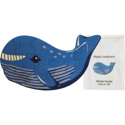 Shaped Jigsaw Puzzle, Whale